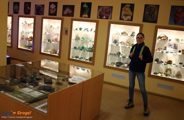Kasia w Muzeum Minerałów w Świętej Katarzynie