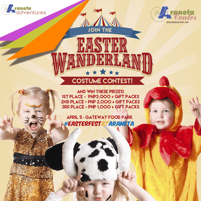 Discover Adventure at Easter Wanderland at Gateway Mall