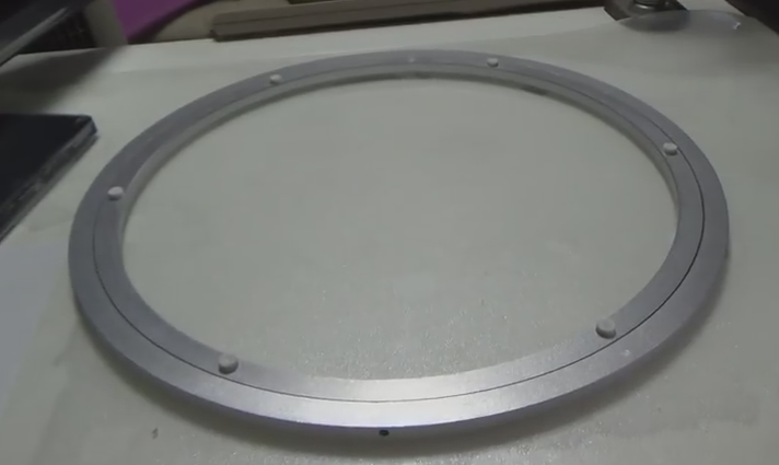 알루미늄 회전판, 모니터 TV를 회전시켜서 볼수 있는 제품