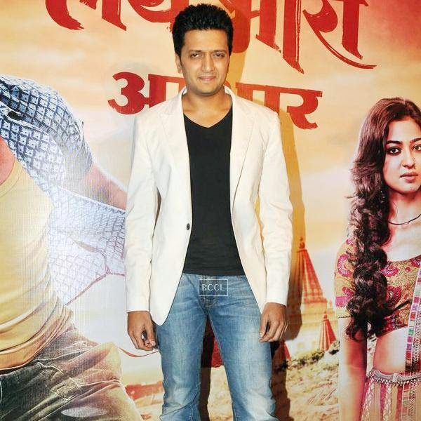 Riteish Deshmukh during the success meet of Marathi movie Lai Bhaari, held at Orchid, on July 14, 2014.(Pic: Viral Bhayani)