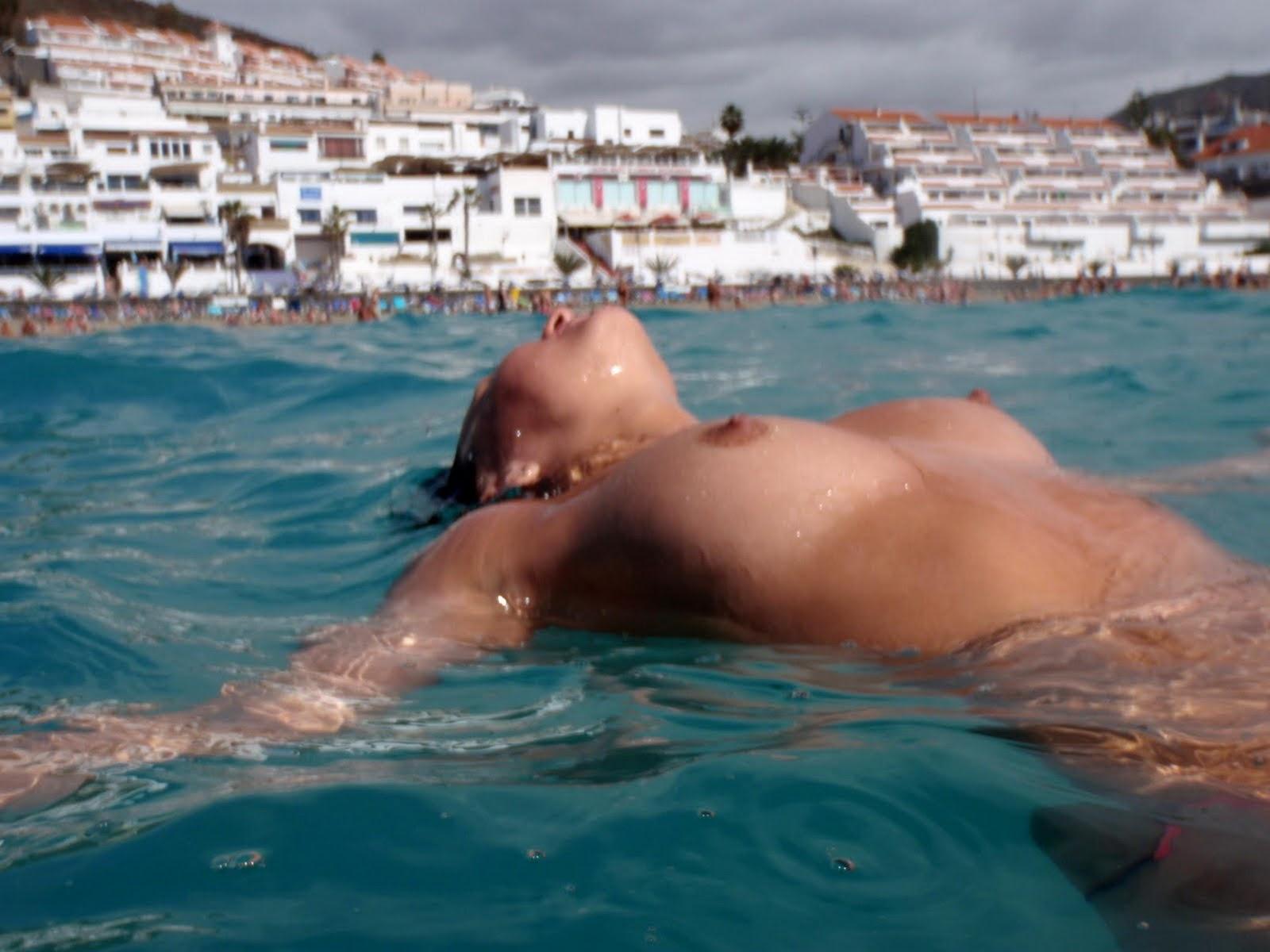 Beach sunbathing nude-2921
