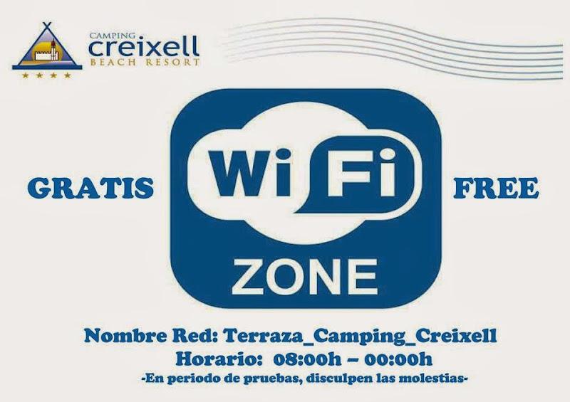 WiFi Zone Camping Creixell
