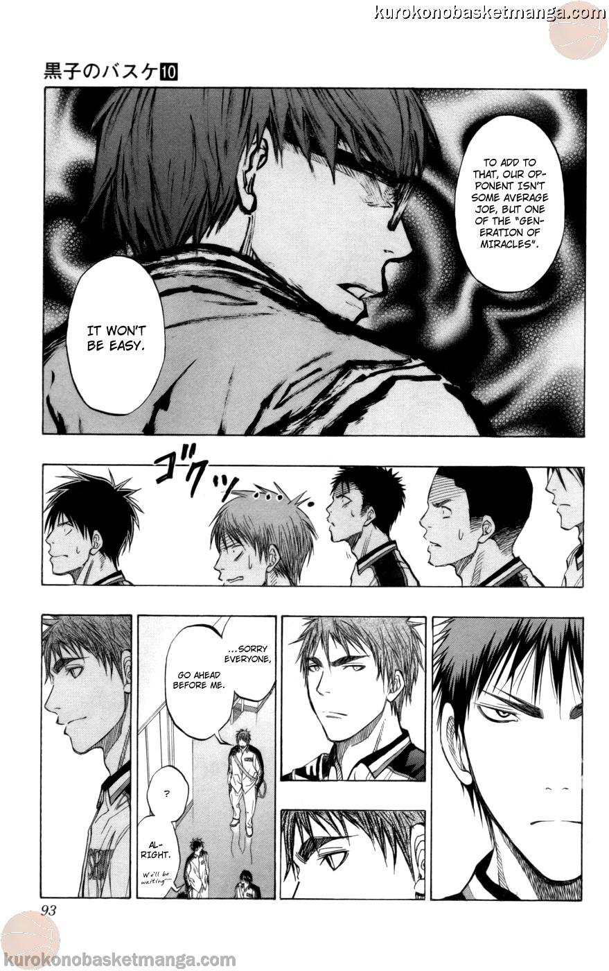 Kuroko no Basket Manga Chapter 85 - Image 07