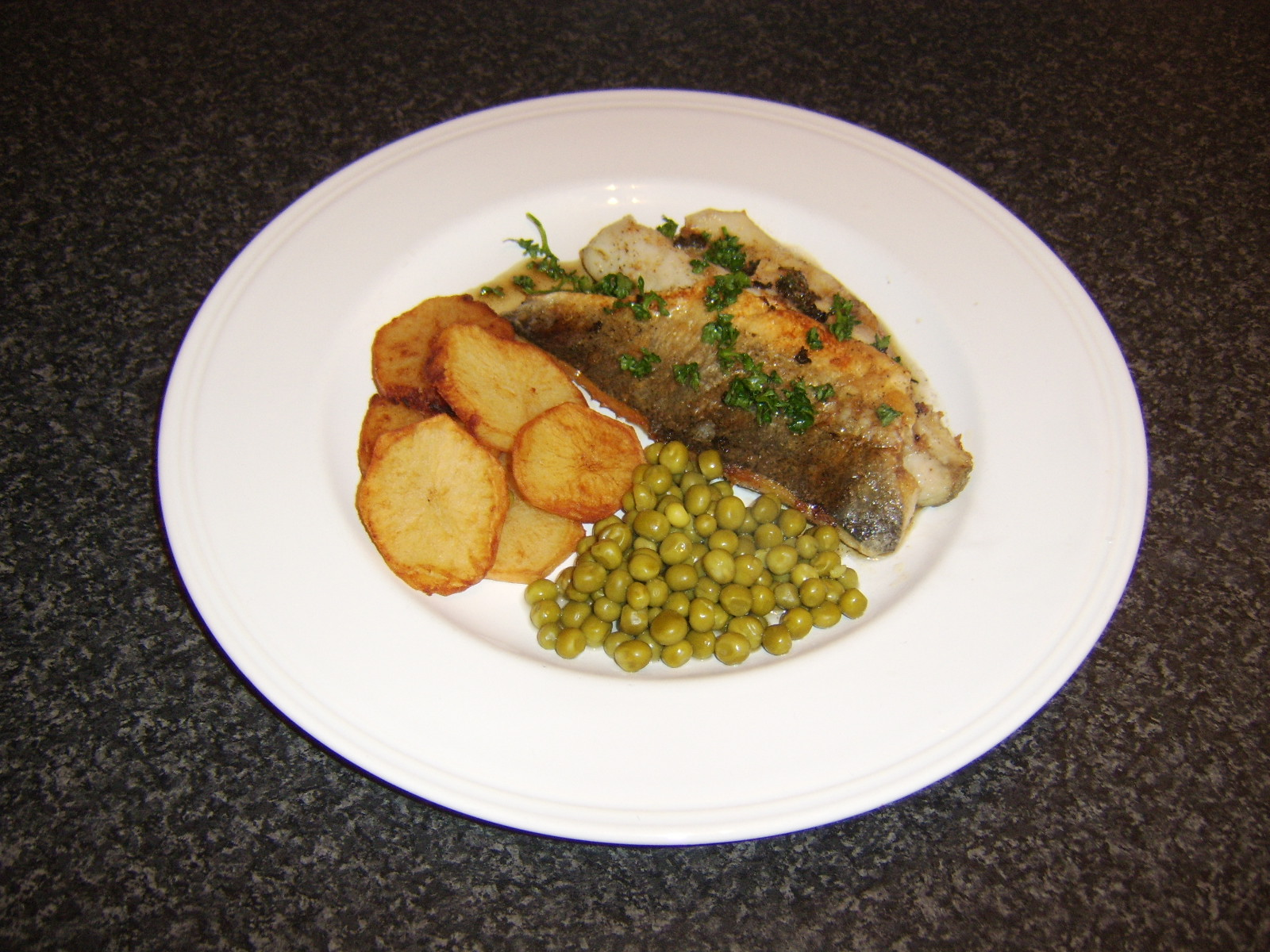 how to cook bass fillets