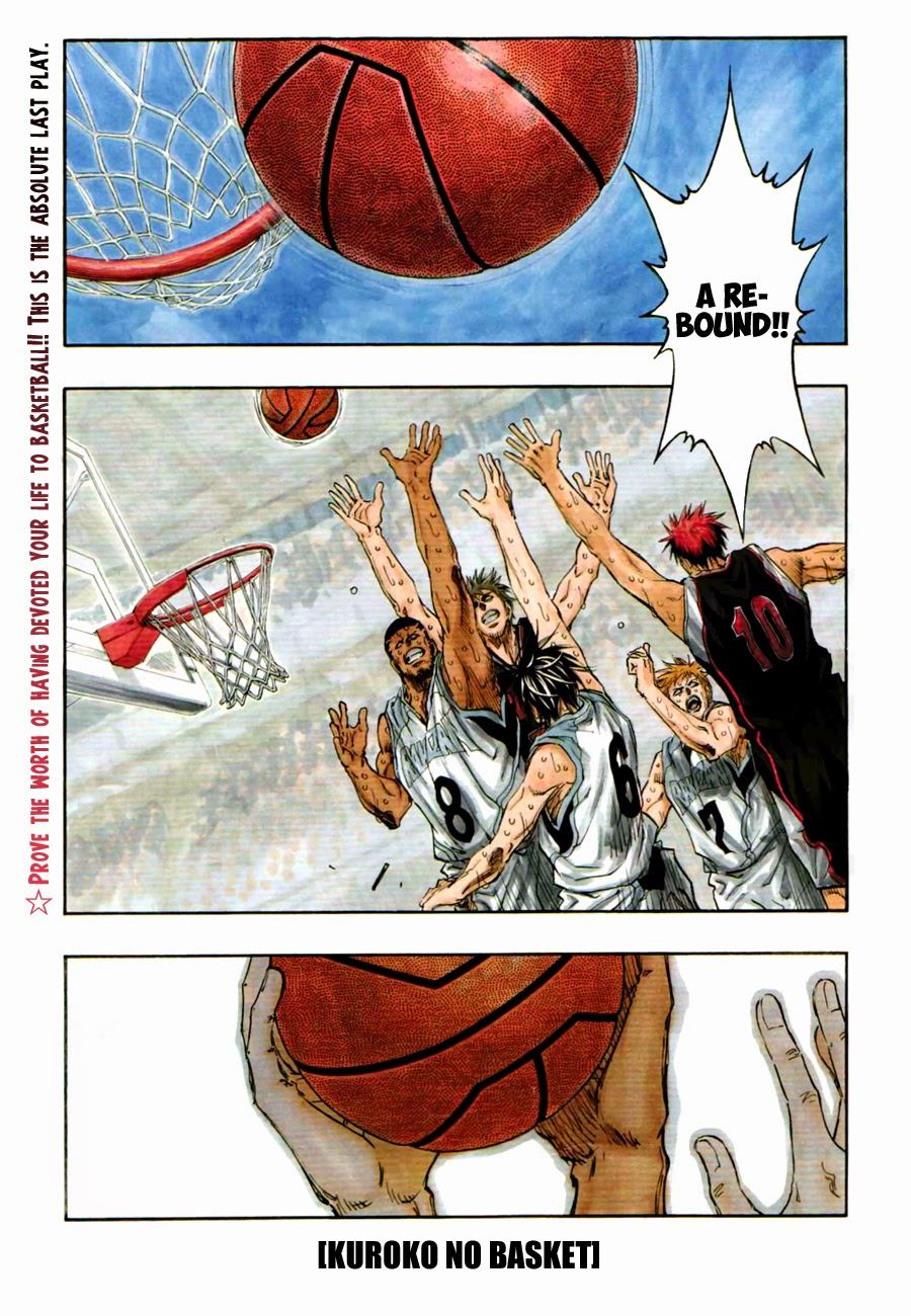 Kuroko no Basket Manga Chapter 274 - Image 01