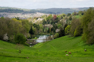 Bath seen from Prior Park