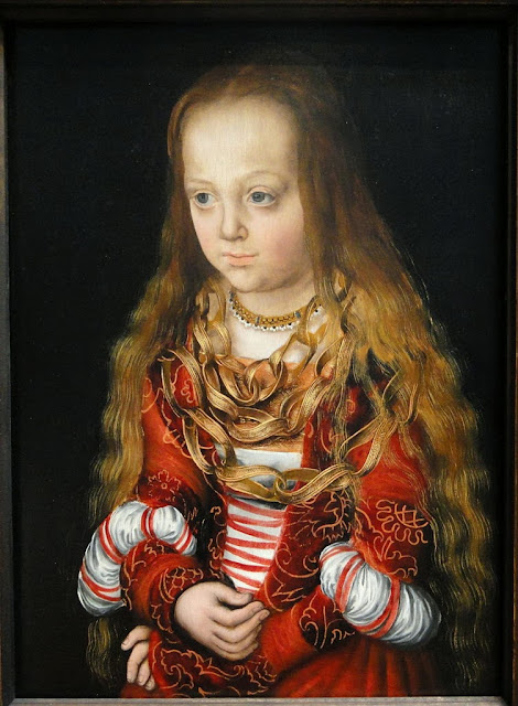 Lucas Cranach the Elder - A Princess of Saxony, c. 1517