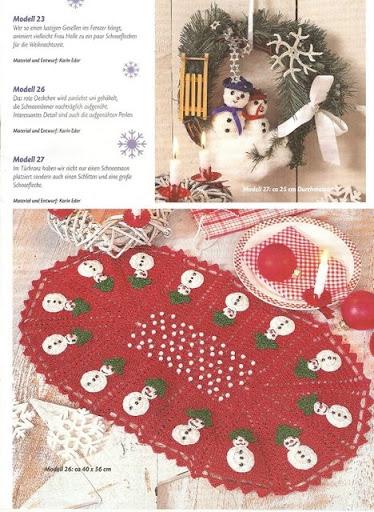 tapetes navideños 11
