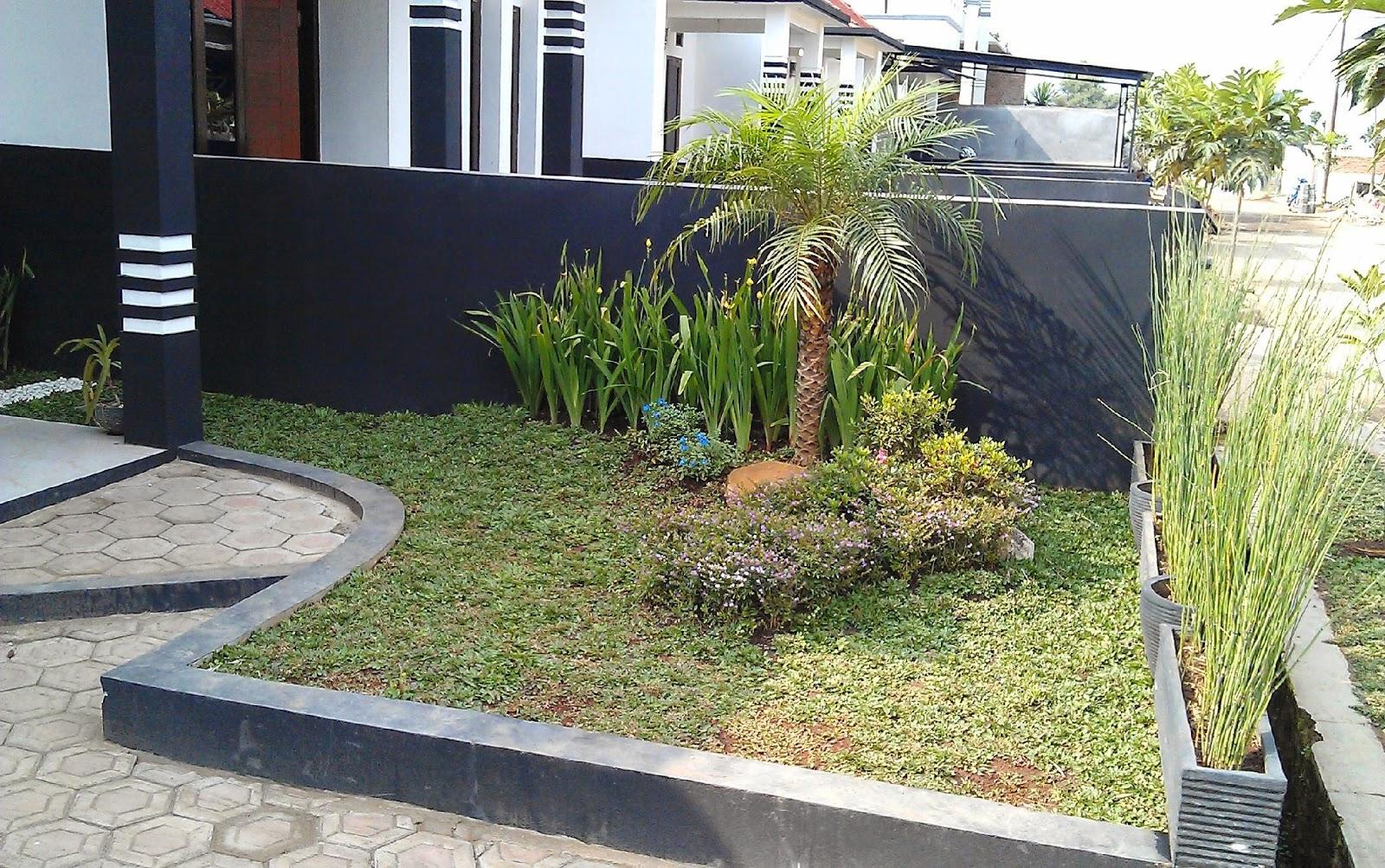 Contoh Gambar Taman Depan Rumah Gallery Taman Minimalis