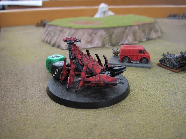 A rather arachnid like Feral.
