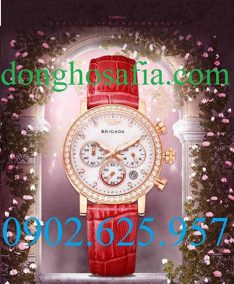 Đồng hồ nữ Brigada B3003L BR101