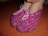 Zapatillas ganchillo