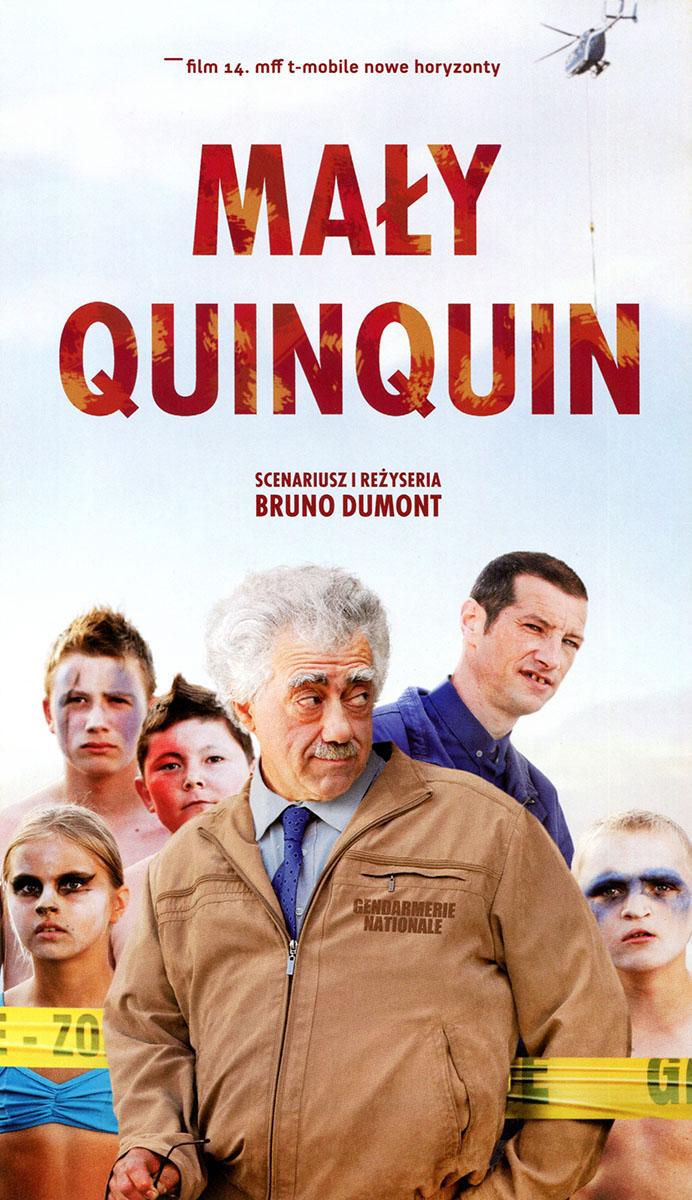 Ulotka filmu 'Mały Quinquin (przód)'