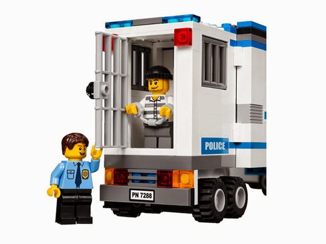 7288 レゴ ポリスベーストラック