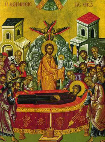 The Dormition Of Our Most Holy Lady The Theotokos And Ever Virgin Mary