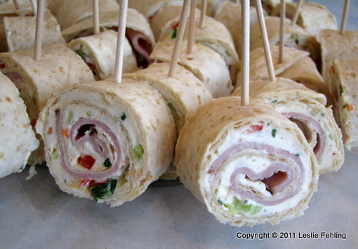 Tortilla Ranch Roll Ups