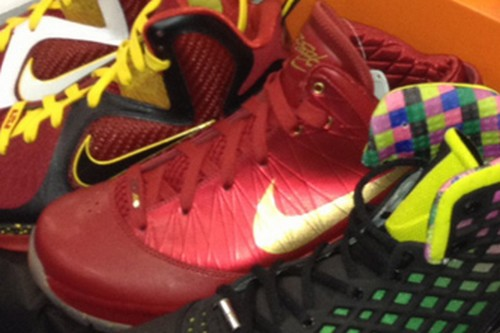 Kyle Yamaguchi8217s Sick LeBron LookSee Display at Sneakercon NYC