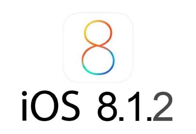 Apple releaseios 8.1.2