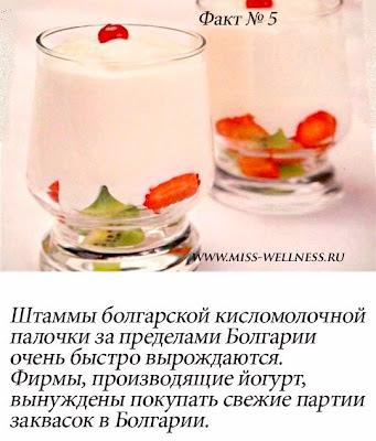 интересные факты о йогурте 5