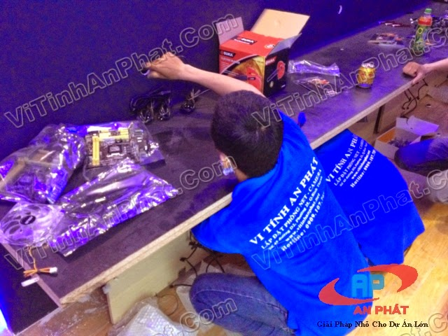 Lắp đặt phòng net trọn gói tại Gò Vấp | Lap dat phong game tai go vap