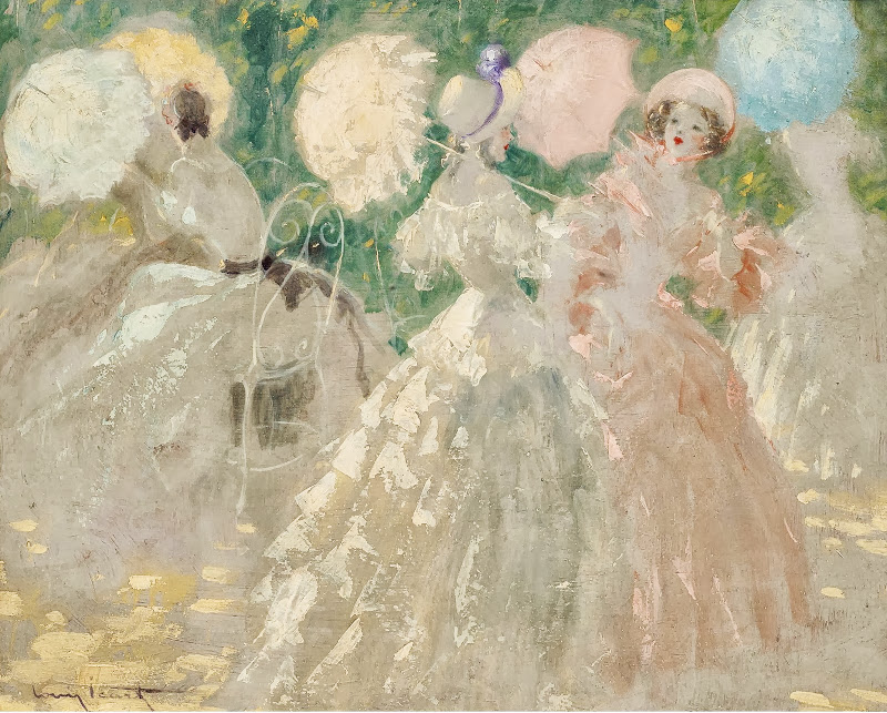 Louis Icart - The Umbrellas