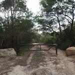 Heading through a National Park gate (120931)