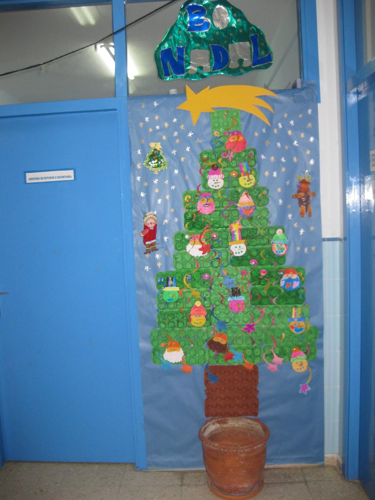 De peques va la cosa arbol de navidad con hueveras for Arbol navidad infantil