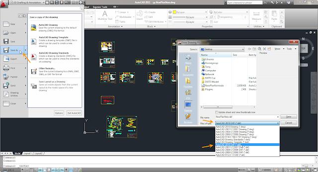 การแปลงไฟล์จาก AutoCAD มาใช้งานใน modo Cad2modo01