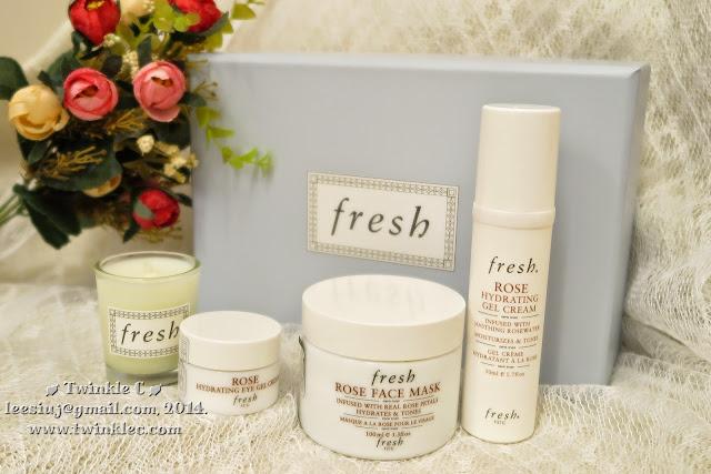 [SKIN]炎夏保濕至強 - Fresh 玫瑰系列 - 玫瑰保濕水凝眼霜