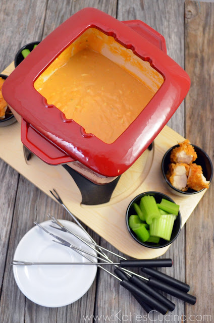 Buffalo Chicken Fondue