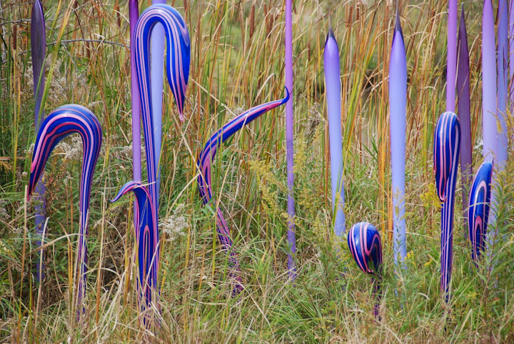 Chihuly - From Fall Color Weekend Getaway: Meijer Gardens & Sculpture Park