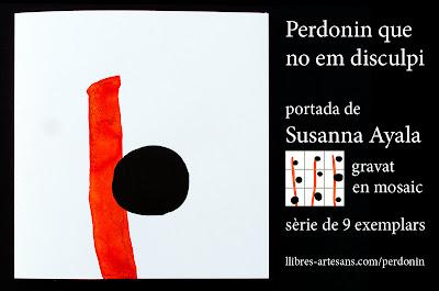 Susanna Ayala, gravat en mosaic pel Perdonin