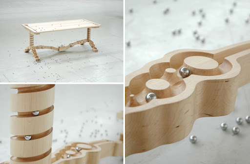 """Marbelous"" Dining Table by Ontwerpduo"