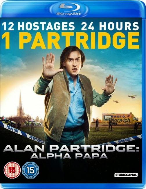 Filme Poster Alan Partridge: Alpha Papa BRRip XviD & RMVB Legendado