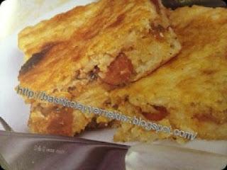 pirinçle börek yapımı