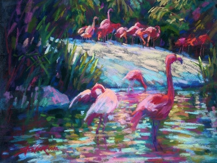 Artists In Pastel Lyndelle Stonick