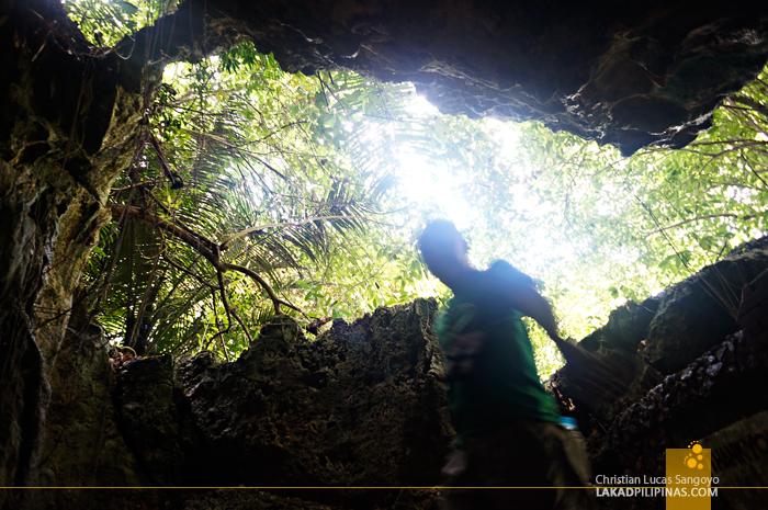 The Entrance to Hoyop-Hoyopan Cave in Camalig, Albay