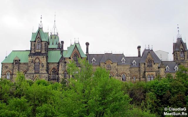 Ottawa - Parlamentul Canadei. Parcul Major Hill
