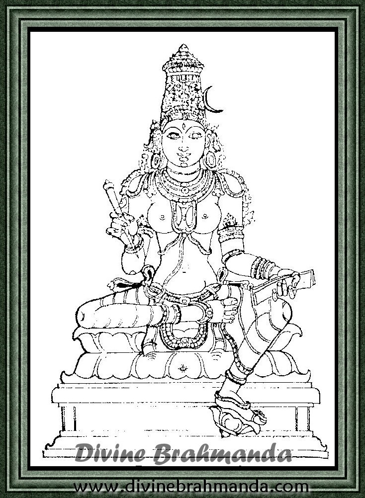 Soundarya Lahari Sloka, Yantra & Goddess To Foresee Future Things - 87