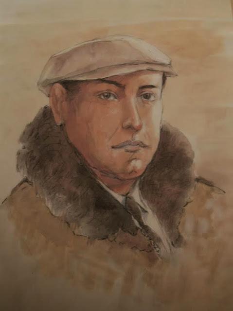 Sobrino, retrato de Alejandro Martínez Corredor