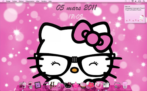 Gallery Images For Hello Kitty Nerd Backgrounds For ComputersGlitter Hello Kitty Backgrounds For Computers