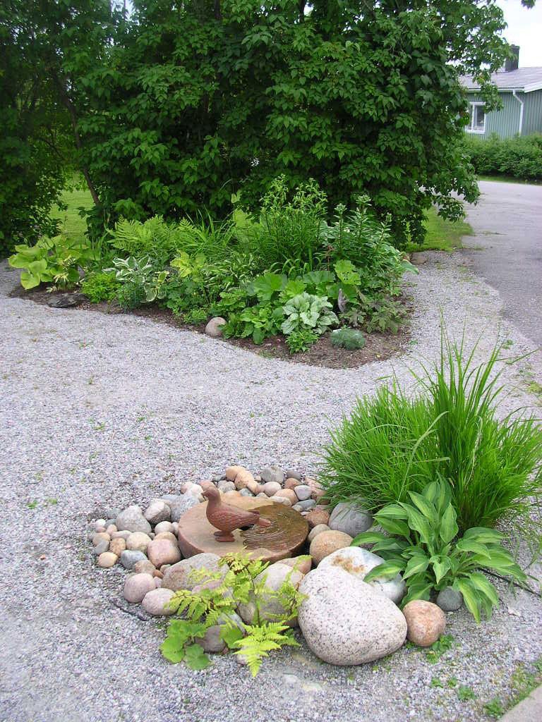 My rented garden: Vatten i min trädgården