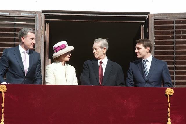 Familia Regală a României - Regele Mihai, Principesa Margareta, Principele Nicolae, Principele Radu