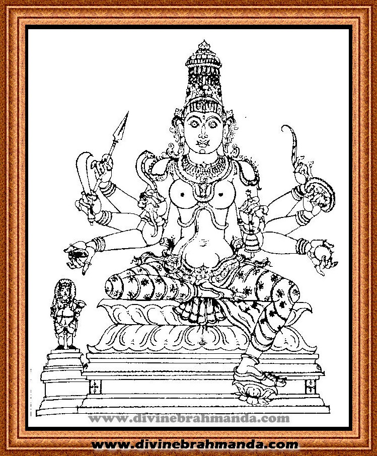Soundarya Lahari Sloka, Yantra & Goddess For Victory in the Matters of Love - 13
