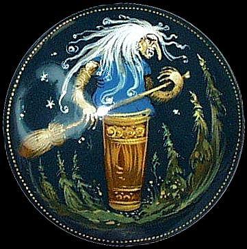 Goddess Baba Yaga Image