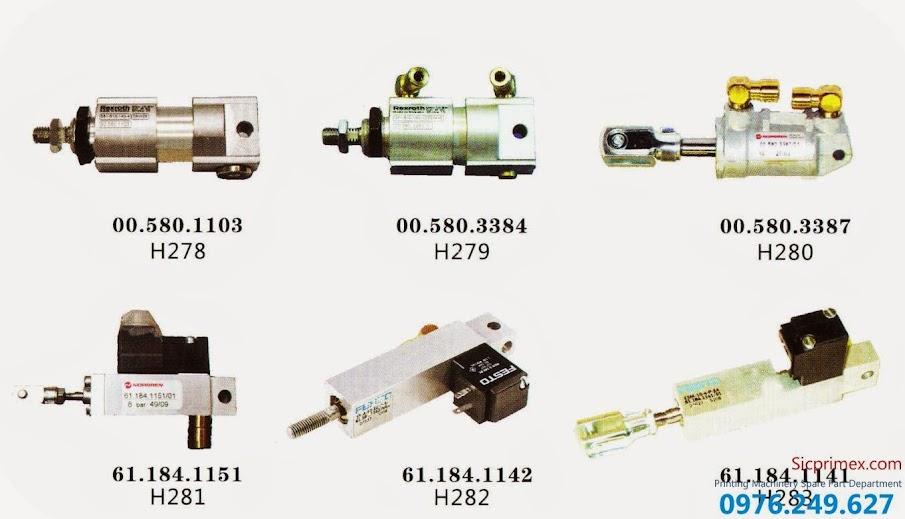 Chuyên sửa chữa thay thế linh kiện máy in Hải Đức Bảo H278-283