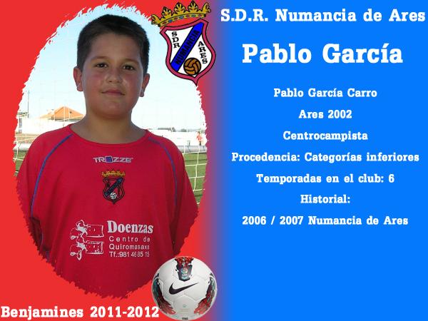 ADR Numancia de Ares. Benxamíns 2011-2012. PABLO GARCIA.