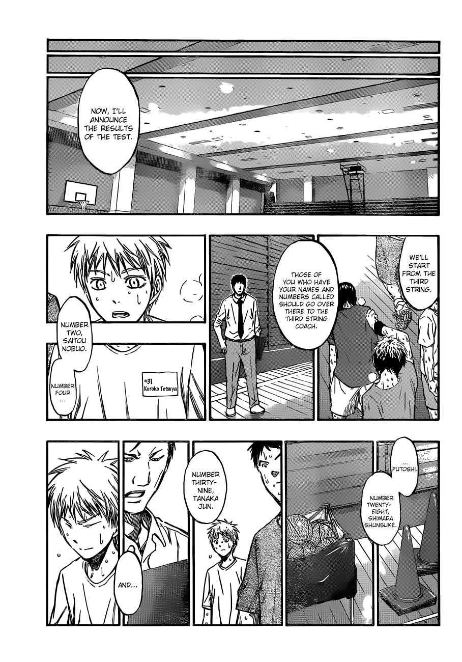 Kuroko no Basket Manga Chapter 204 - Image 15