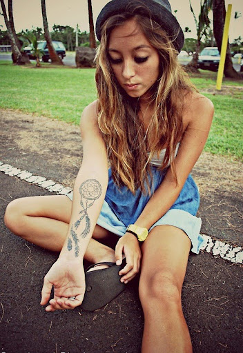 arm Dreamcatcher Tattoos