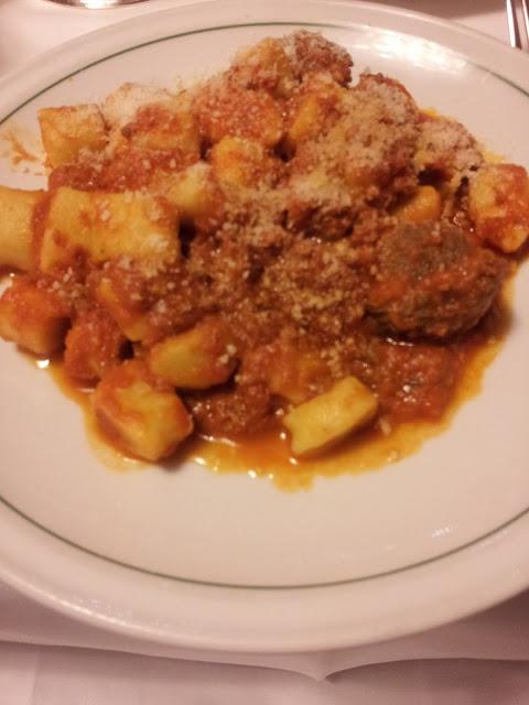 dana etli gnocchi, La Campana Roma